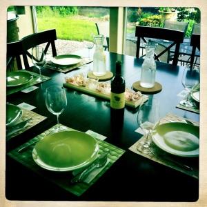 1st Social Markeating Dinner Table